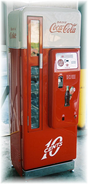 cavalier 96 coke machine