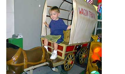 Wagon Train kiddy Rides