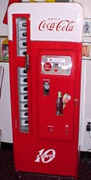 Restored Cavalier 96 Soda Vending Machine