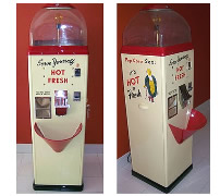 Restored Sez Popcorn Vending Machine