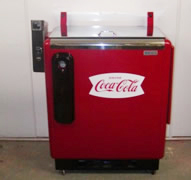 Restored Coca-Cola Slider Soda Cooler