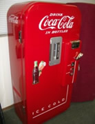 Restored Cavalier 39 Soda Vending Machine