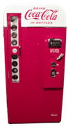 Restored Vendo 81B Soda Vending Machine