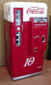 restored coke machine eBay